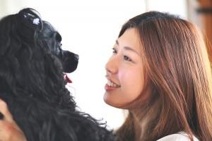 シャンプーが変わると、 愛犬も笑顔になります。